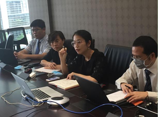 中美嘉伦中国机械进出口公司人力资源咨询项目团队